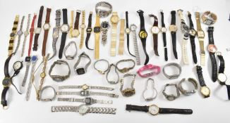 LARGE COLLECTION OF LADIES WRIST WATCHES.