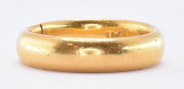 HALLMARKED 22CT GOLD BAND RING