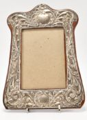 1920S SILVER PHOTO FRONTED PHOTO FRAME