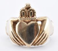 HALLMARKED 9CT GOLD CLADDAGH RING