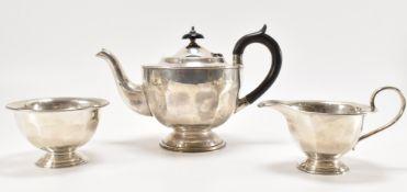 1930'S VINER'S LTD SILVER TEA SET