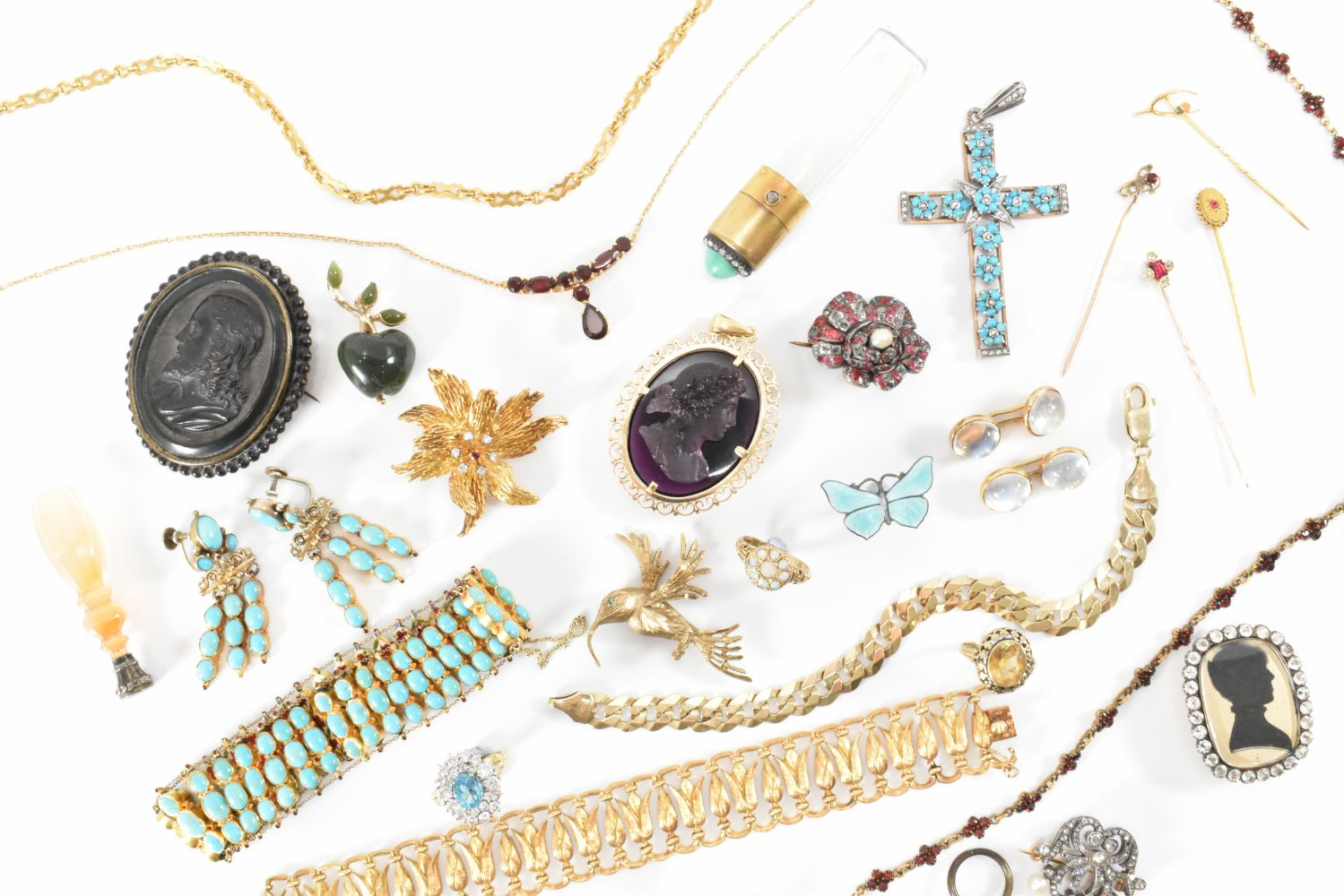 Antique & Vintage Jewellery, Watch, Gold, Silver & Mineral Auction