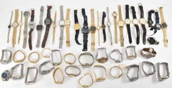 LARGE COLLECTION OF MIXED WRISTWATCHES