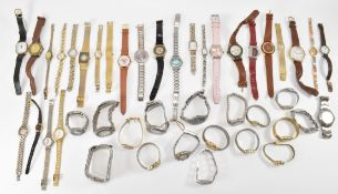 LARGE COLLECTION OF ASSORTED WRIST WATCHES