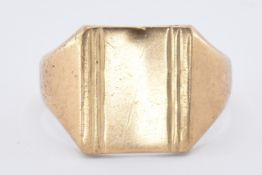 HALLMARKED 9CT GOLD SIGNET RING