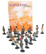 LARGE COLLECTION OF ASSORTED NAPOLEONIC WAR FIGURES & MAGAZINES