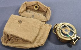 WWII SECOND WORLD WAR OFFICER'S TRAINING CORPS COMPASS 1943