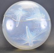 1920S RENE LALIQUE GEORGETTE GLASS BOX