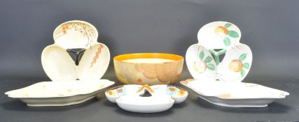COLLECTION OF 1930'S MYOTT CHINAWARE