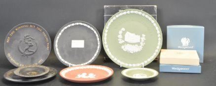 ASSRTOMENT OF WEDGWOOD JASPERWARE COMMEMORATIVE PLATES