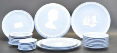 COLLECTION OF WEDGWOOD JAPSERWARE PLATES