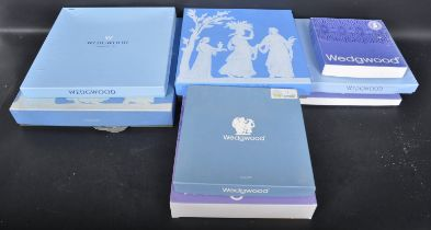 COLLECTION OF VINTAGE 20TH CENTURY WEDGWOOD JASPERWARE COMMEMORATIVE PLATES