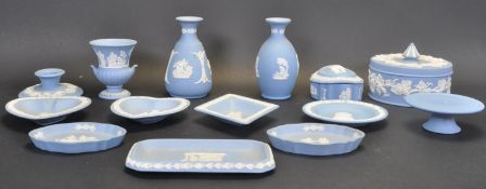 COLLECTION OF EARLY 20TH CENTURY WEDGWOOD JASPERWARE