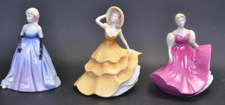 THREE WADE CERAMIC FIGURINES FROM MY FAIR LADIES COLLECTION