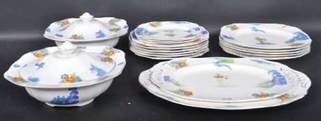 LARGE DINNER SERVICE BY ALFRED MEAKIN