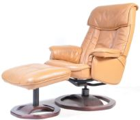 CONTEMPORARY EKORNES STRESSLESS STYLE RECLINING CHAIR