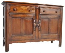 MID 20TH CENTURY ERCOL OLD COLONIAL SIDEBOARD CREDENZA