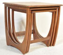 G PLAN - BRITISH MODERN DESIGN - RETRO VINTAGE TEAK NEST OF TABLES