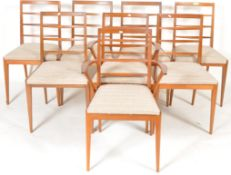 MCINTOSH & CO - MATCHING SET OF EIGHT TEAK DINING CHAIRS