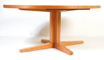 DYRLAND - 1970'S DANISH TEAK EXTENDING DINING TABLE