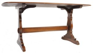 VINTAGE RETRO ERCOL OLD COLONIAL DINING TABLE