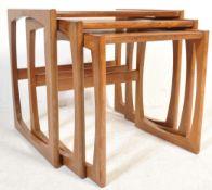 G-PLAN TEAK WOOD NEST OF TABLES