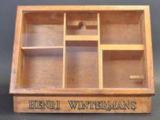 DUTCH HABERDASHERY SHOP CABINET FOR HENRI WINTERMANS