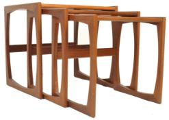 1970'S G-PLAN QUADRILLE TEAK WOOD GRADUATE NEST OF TABLES