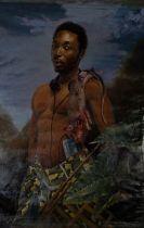 DEREK JAHYEM JOMBO (NIGERIAN) TONY: SELF PORTRAIT, 2019