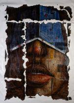 ABDULRAZAQ AHMED (NIGERIAN, B.1976) AGAINST ALL ODDS, 2017