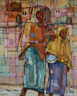BEN IBEBE (NIGERIAN, B.1966) VALUES, 2017