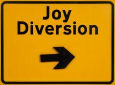 DR D ( BRITISH ) JOY DIVERSION SIGN, 2021