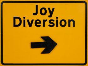 DR D ( BRITISH ) JOY DIVERSION SIGN, 2020