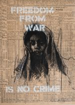 GUY DENNING (BRITISH) FREEDOM FROM WAR (CHILD) 2021