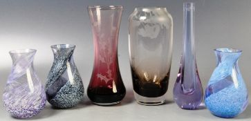 CAITHNESS COLLECTION OF STUDIO ART GLASSES
