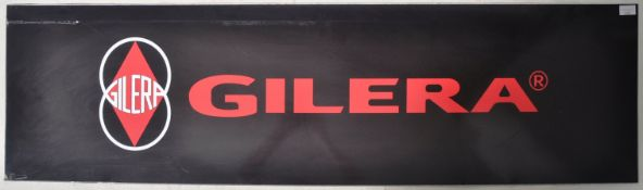 GILERA - POINT OF SALE SHOWROOM ADVERTISING SIGN