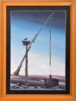 ANATOLI HENERALOV - UKRAINIAN ARTIST - OIL ON CANVAS PAINTING