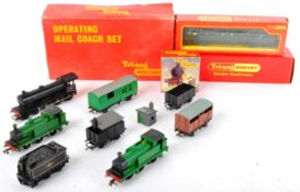 COLLECTION OF ASSORTED HORNBY TRIANG 00 GAUGE TRAIN SET ITEMS