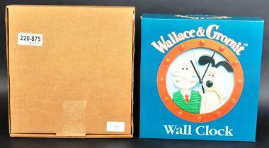WALLACE & GROMIT - AARDMAN ANIMATIONS - UNUSED VINTAGE WALL CLOCK