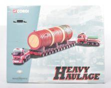 LARGE CORGI HEAVY HAULAGE DIECAST MODEL BOX SET