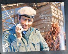 "DOCTOR WHO - JOHN LEVENE (SGT BENTON) - AUTOGRAPHED 16X12"" PHOTO"