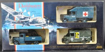 DAMBUSTERS - GEORGE JOHNNY JOHNSIGN SIGNED DIECAST MODEL SET