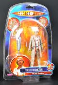 DOCTOR WHO - PETER DAVISON (FIFTH DOCTOR) - SIGNED ACTION FIGURE