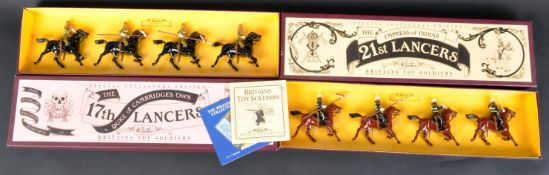 TWO SPECIAL COLLECTORS EDITION BRITAINS MADE LEAD SOLDIERS