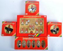 COLLECTION OF BRITAINS HAND PAINTED LEAD TOY SOLDIERS