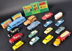 COLLECTION OF ASSORTED VINTAGE DIECAST MODELS