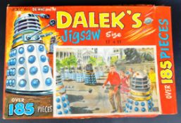DOCTOR WHO - SCARCE DR WHO ' DALEK'S JIGSAW ' PUZZLE