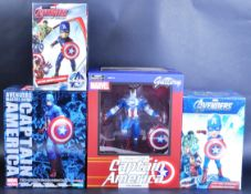COLLECTION OF ASSORTED CAPTAIN AMERICA ACTION FIGURES
