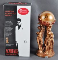 AL PACINO - SCARFACE - INCREDIBLE SIGNED PROP REPLICA PAPERWEIGHT