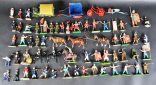 LARGE COLLECTION OF ASSORTED LEAD TOY SOLDIER FIGURES